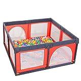Parque Infantil Parques Zona de Juegos para niños, área de Juegos para niños al Aire Libre, Juegos de niños Grandes, 150 × 150 × 70 cm (Color : Azul)
