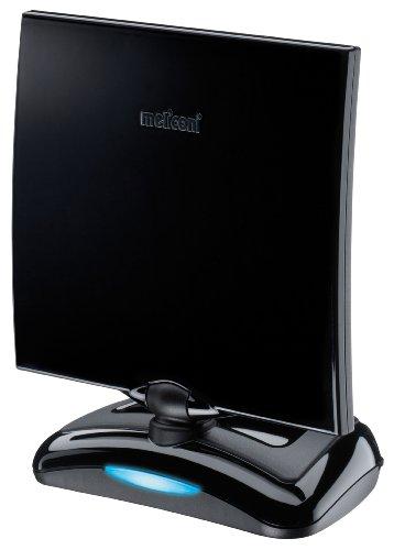 Meliconi AT-49 Antenna TV per Interni con Amplificazione fino a 49 dB, Ideale per la Ricezione del Segnale Digitale Terrestre