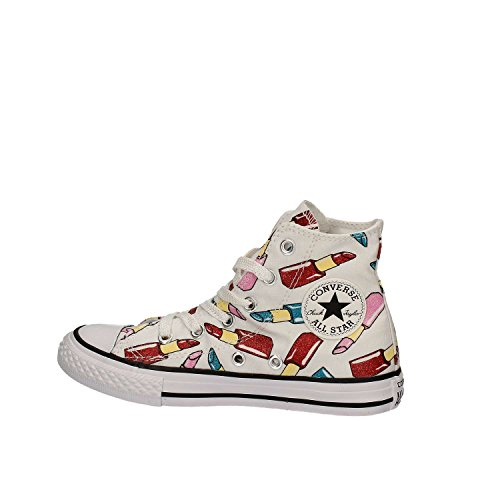 CONVERSE All Star Bambina 656860C White Sneaker Primavera/Estate Bianco