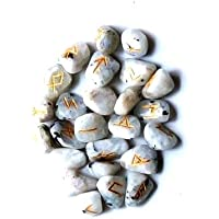 Heilung Kristalle Indien®: natur Edelstein Runen Set preisvergleich bei billige-tabletten.eu