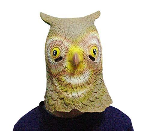 ieyol Deluxe New Dress up Halloween Eule Kost¨¹m Cosplay Neuheiten Latex Tierkopf Masken f¨¹r lustige (Deluxe Schweine Maske)