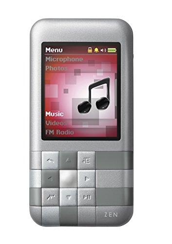 Creative Zen Mozaic MP3-Player 4 GB Silber Zen Multimedia-player