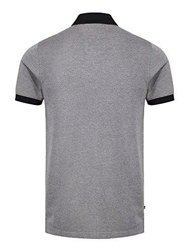 LUKE SPORT Herren Poloshirt Black Marle Grey