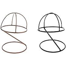 Sharplace 2 Unids Cabeza de Maniquí Estante de Sombrero Soporte de Peluca  Expositor Gafas ecc1d2a9e4c