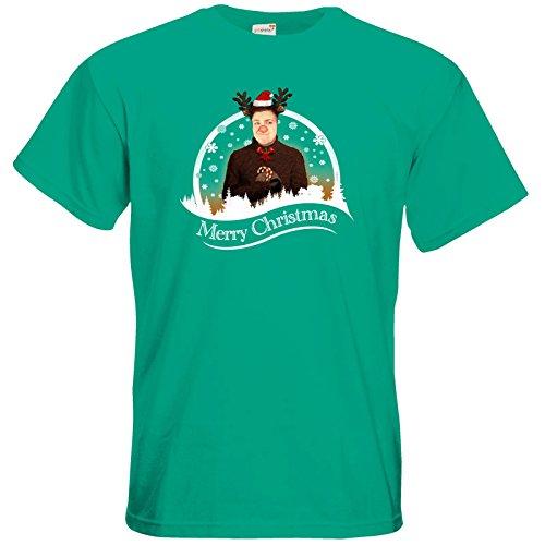 getshirts - Heidelwurst - T-Shirt - WeihnachtsCurry Pacific Green