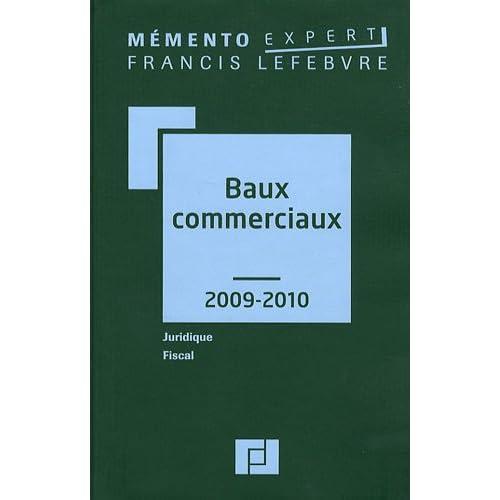 Baux commerciaux 2009-2010
