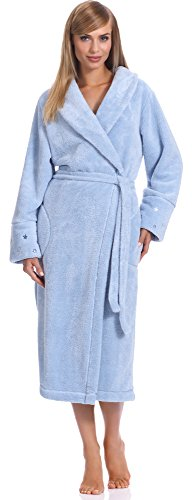 L&L Bata Larga Mujer LL0096 Azul