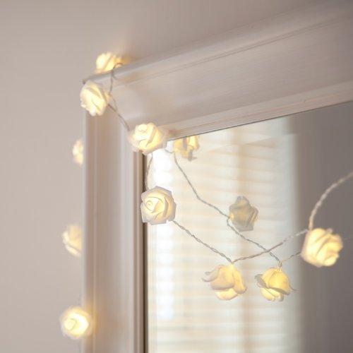 Rosen-Lichterkette Lichterkette Minibild