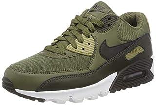Nike Men's Air Max 90 Essential Gymnastics Shoes, Green (Medium Olive/Black/Sequoia/Neu 201), 10 UK (B005AJGQXQ)   Amazon price tracker / tracking, Amazon price history charts, Amazon price watches, Amazon price drop alerts