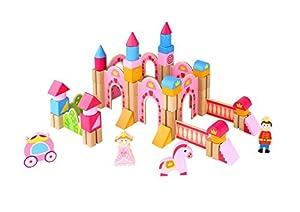 Tooky Toy - Castillo de Princesa - Juguete Educativo a Partir de 3 años