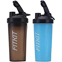 Fitkit Prime Shaker Bottle with Wire Blending Ball