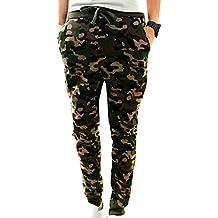 Minetom Hombres Otoño Primavera Moda Harén Pantalones Camuflaje Trotar Ocio Deportivos Pantalones