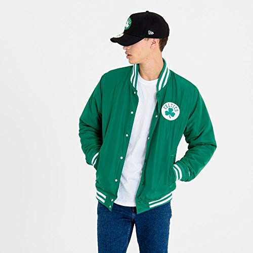 New Era Boston Celtics Bomberjacke, Grün, XL