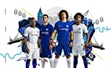 Import Posters CHELSEA FC – Luiz Hazard Willian Kante 17/18 - Football Wall Poster Print - 30CM X 43CM Brand New F.C