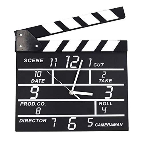 55929c01cb8 AKJC Reloj De Pared Movie Set Wall Clocks Modern Design Digital Wall Clock  Creative Message Board