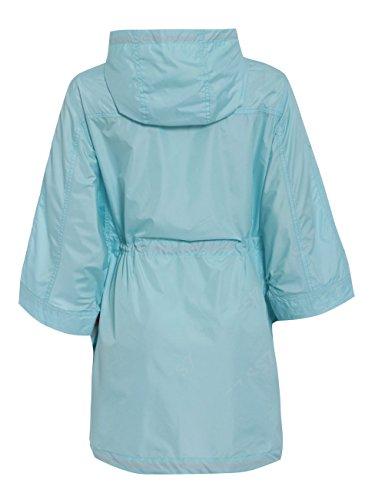 SS7 Femmes Imperméable Mac, Coupe-vent Imperméable Festival, Tailles 36 à 44 Bleu pâle