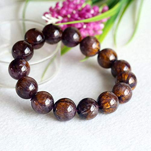 Bright Natural Purple Sugilite Gems South Africa Rectangle Beads Bracelet 14mm Aaaa Keep You Fit All The Time Rocks, Fossils & Minerals
