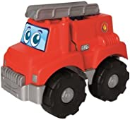 Simba Ecoiffier Les Maxi Garnished Fire Truck, Red