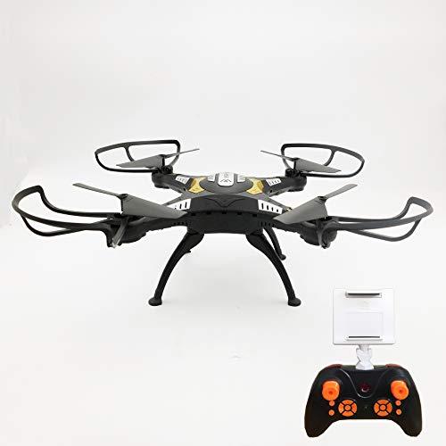 FP-Tech Drone Quadricottero Radiocomandato, Headless WIFI X401 FPV Camera HD, Video Photo USB LED, Colori Assortiti