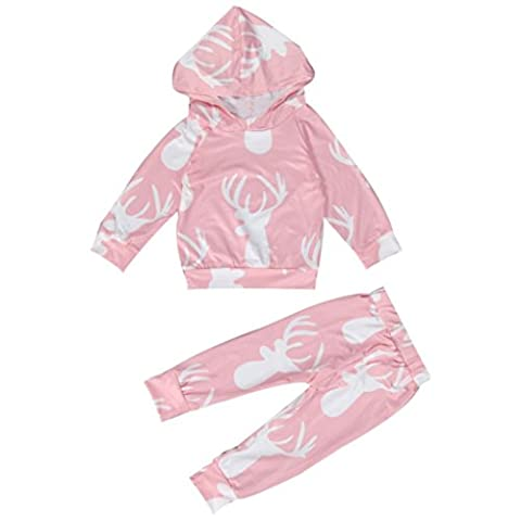 Fashion Baby Clothes, Kingko® Newborn Hoodies Infant Baby Boy Girl