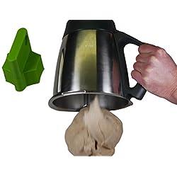 HG Verlag Accessoire pour Thermomix pour récupérer la pâte plus facilement, plastique, pour Thermomix TM5, vert