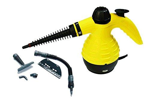 Foto de Limpiador a vapor vaporeta para baño alfombra coche 220V 1000W 350ml con accesorios