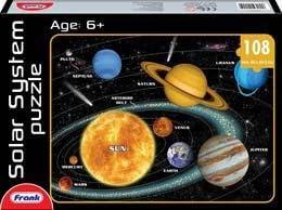 Frank Solar System Puzzle, Multi Color