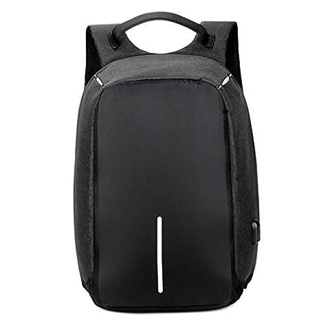Sac à dos Antivol de Bstcentelha, sac à dos pour ordinateur portable avec port USB, sac à dos décontracté imperméable léger pour l