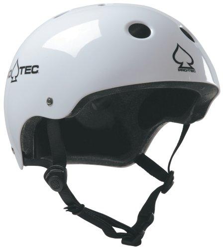 Pro Tec Vdw85v4 The Classic Casque De Skatevelo Blanc Xs 51 52 Cm
