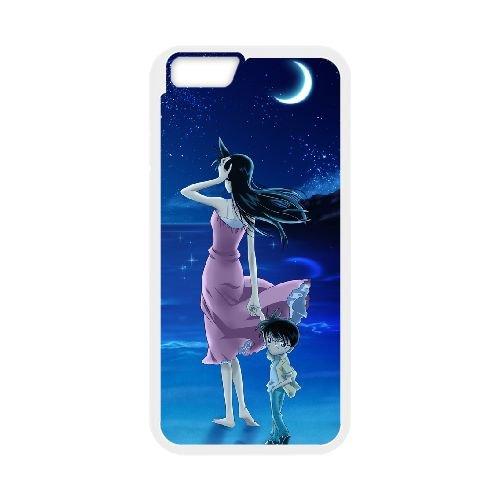 Detective Conan coque iPhone 6 Plus 5.5 Inch Housse Blanc téléphone portable couverture de cas coque EBDXJKNBO10316