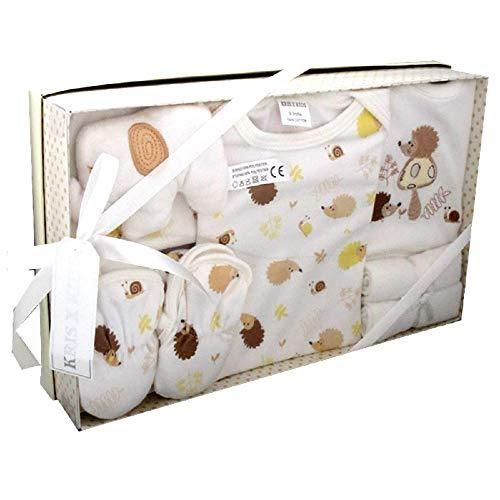 Bee Bo Lujo Caja Regalo recién Nacido bebé 7pcs