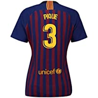 UKSoccershop 2018-2019 Barcelona Home Nike Ladies Shirt (Pique 3)