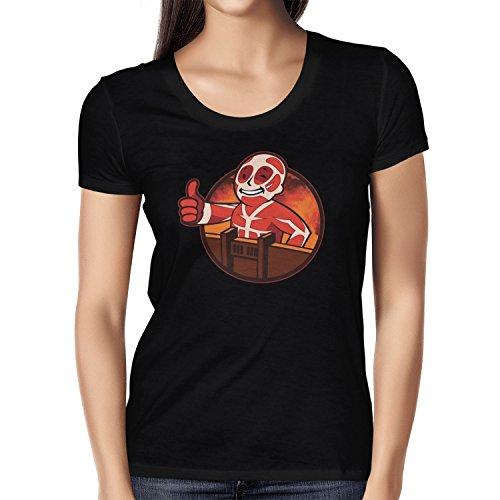 TEXLAB - Titan Boy - Damen T-Shirt Schwarz
