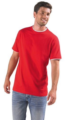 Men Contrast-T Madison 170 Red/White