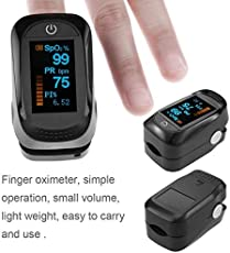 World Beauty's Pulse Oximeter Automatic standby Blood Oxygen Saturation Meter Fingertip Oximeter Heartbeat Detector Testing Monitor