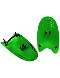 Arena Trax Hand Paddles Acid Lime L