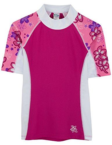 SEASIDE UV-Shirt - Kurzarm, Blossom Pink, Gr. 6-7 Jahre