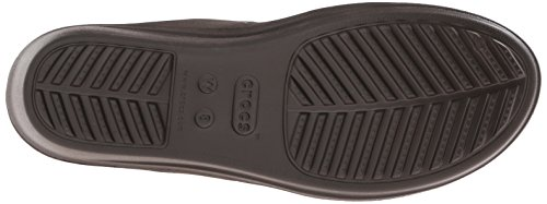 Crocs Sanrah Wedge W, Sandales - Femme Marron (Espresso/Walnut)