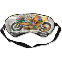 Sleep Eye Mask Motorcycle Motorrad Lightweight Soft Blindfold Adjustable Head Strap Eyeshade Travel Eyepatch preisvergleich bei billige-tabletten.eu