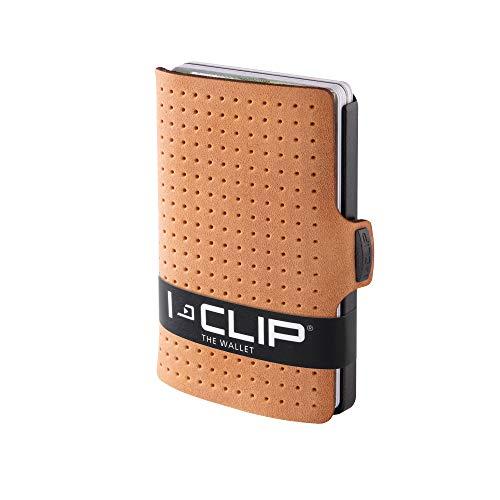 I-CLIP I-CLIP Geldbörse Robutense AdvantageR Gunmetal Black Caramel (in 8 Farben erhältlich)