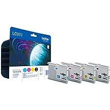 Multipack Tinta De Brother Lc-970 Value Pack (Juego De 4)