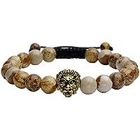 JOVIVI Buddha-Armband Reiki-Energietherapie Yoga Armreif Löwe-Kopf Stein Beads Armband Geflochte Armband,Bildstein preisvergleich bei billige-tabletten.eu