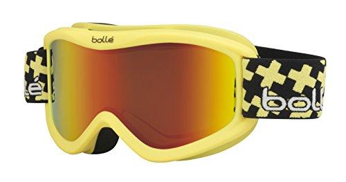 Bollé Skibrille Volt Plus, Matte Yellow Cross Sunrise, 21359