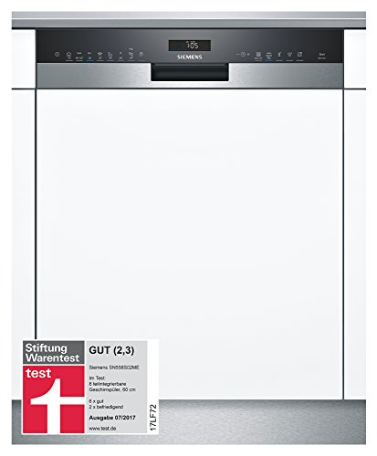Siemens SN558S02ME iQ500 Geschirrspüler A++ / 266 kWh/Jahr / 2660 L/Jahr / AquaStop/edelstahl