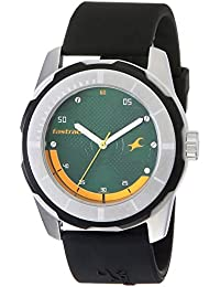 Fastrack Economy 2013 Analog Green Dial Men's Watch NM3099SP06 / NL3099SP06