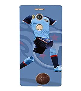 printtech Football Player Jersey Back Case Cover for Gionee Elife E8