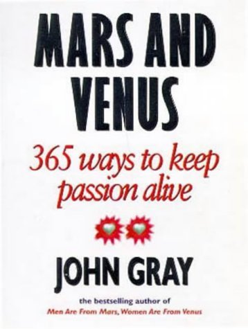 Mars and Venus: Starting Over by John Gray (9-Jul-1998) Paperback