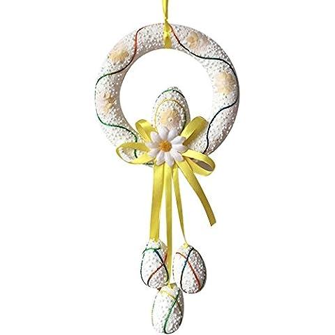 FORUS huevo Paques-Guirnalda de decoración para colgar de 5