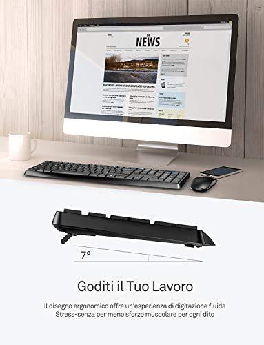 Zoom IMG-1 victsing tastiera e mouse wireless
