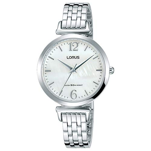 Lorus Womens Analogue Classic Quartz Watch with Stainless Steel Strap RG227NX9